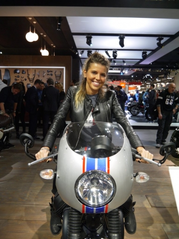Moto Guzzi Racer - Eicma 2017-Denver's Garage
