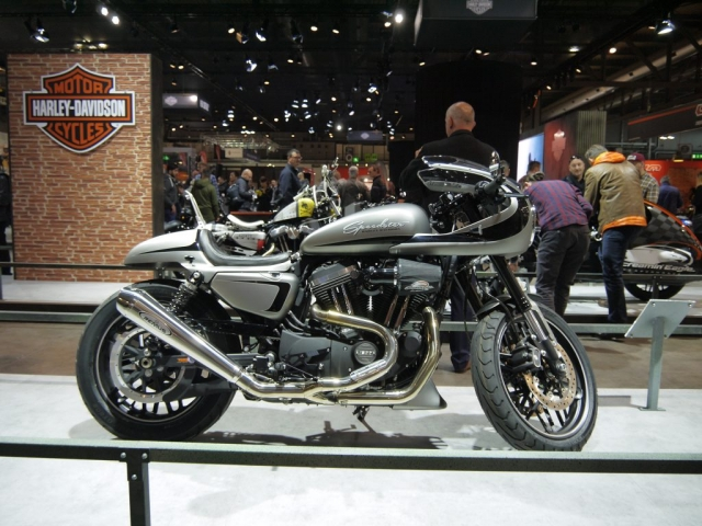 Harley-Davidson Sportster - Battle of the Kings - Eicma 2017-Denver's Garage