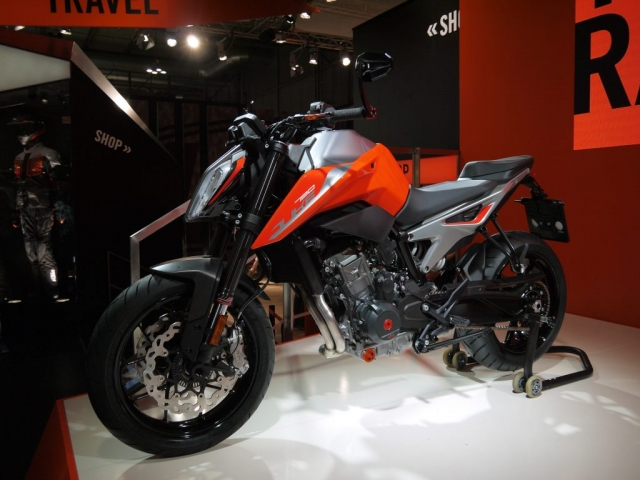 KTM Duke 790 - Eicma 2017-Denver's Garage