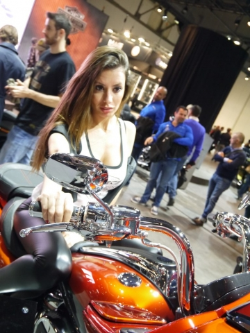 Italian style by Harley-Davidson - Eicma 2017-Denver's Garage