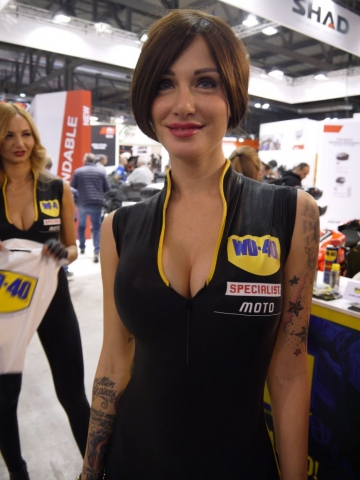 Italian Style by WD-40 - Eicma 2017-Denver's Garage