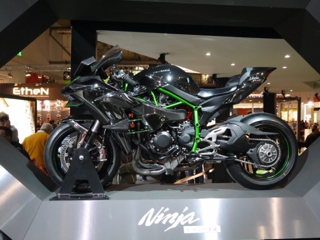 Kawasaki H2R - Eicma 2017-Denver's Garage