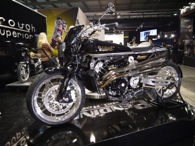 Brough Superior Pendine Sand Racer - Eicma 2017-Denver's Garage