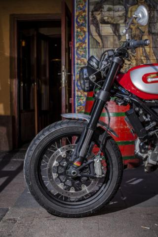 Ducati Scrambler by XTR - Copyrights : Cesar Godoy